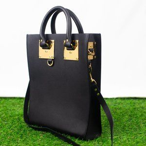Structured Leather Tote (Sophie Hulme)